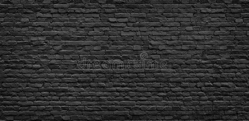 Donkere bakstenen muurtextuur royalty-vrije stock foto's