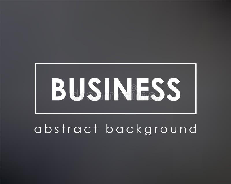 Donkere bedrijfs achtergrondonduidelijk beeldachtergrond royalty-vrije illustratie