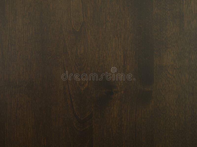Donkere bruine houten textuur royalty-vrije stock afbeelding