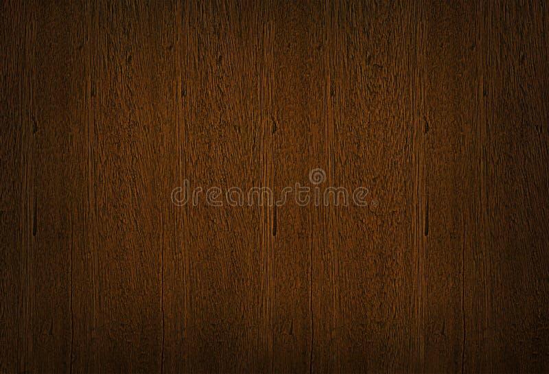 Donkere bruine houten textuur, houten korrelachtergrond stock foto's