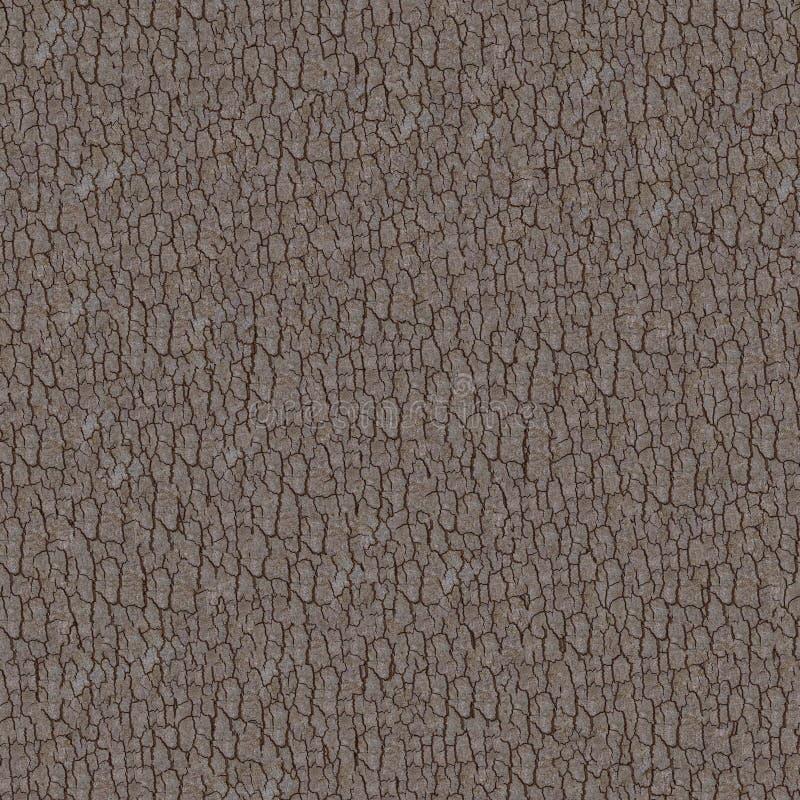 Donkere Bruine Schors. Naadloze Tileable-Textuur. stock foto
