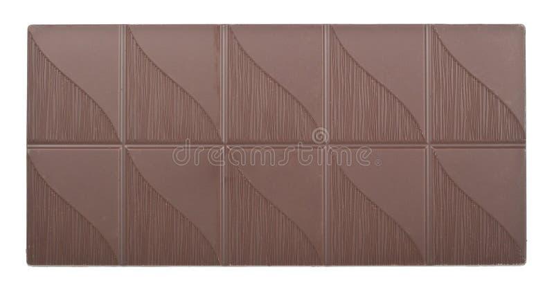 Donkere chocoladerepen stock fotografie