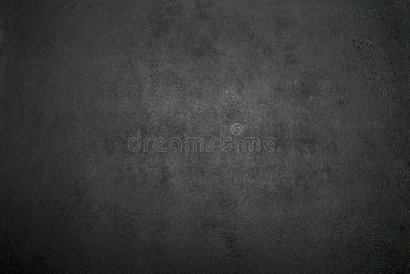 Donkere concrete textuur of achtergrond Horizontaal beeld stock foto