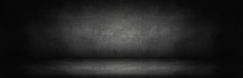 donkere en grijze abstracte cementmuur stock fotografie