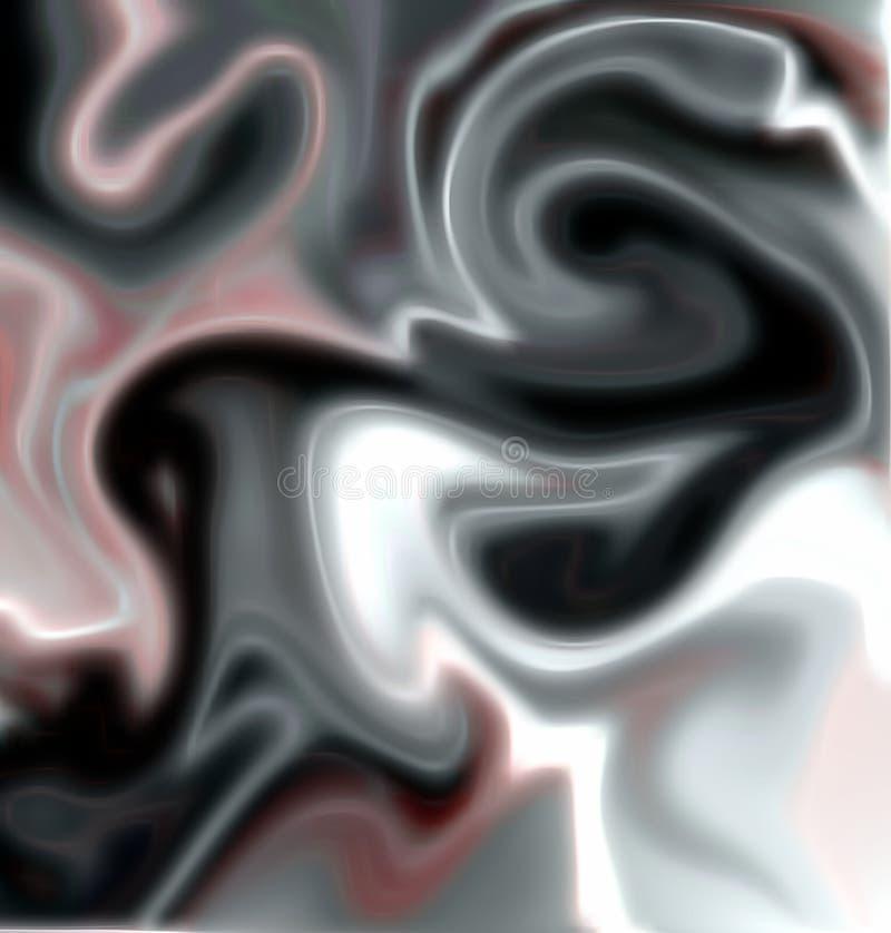 Donkere en witte tinten, abstracte achtergrond vector illustratie