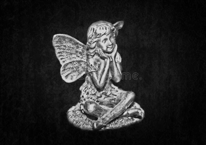 Donkere engel stock afbeelding
