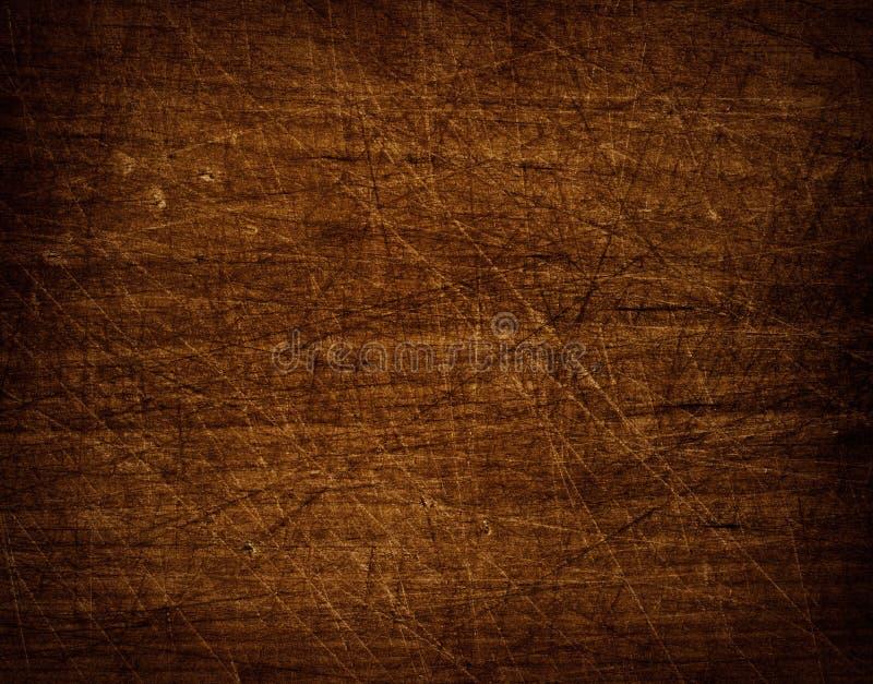 Donkere gekraste grunge snijdende raad stock foto