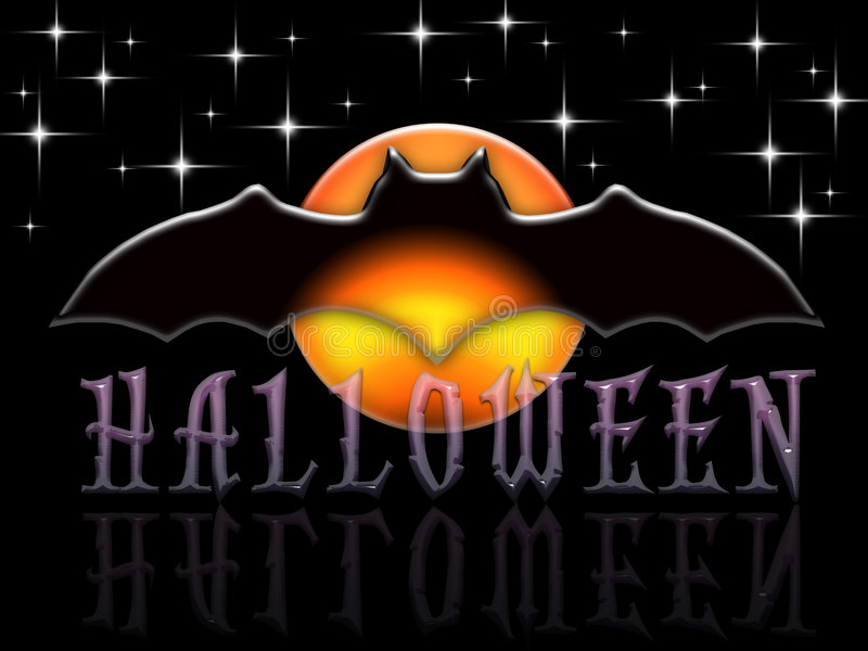 Donkere Glazy Halloween royalty-vrije illustratie