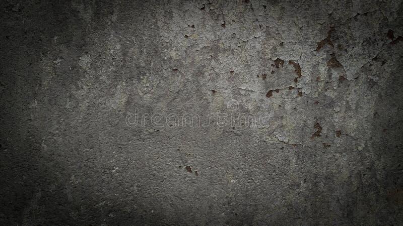 Donkere grijze concrete achtergrond stock afbeelding