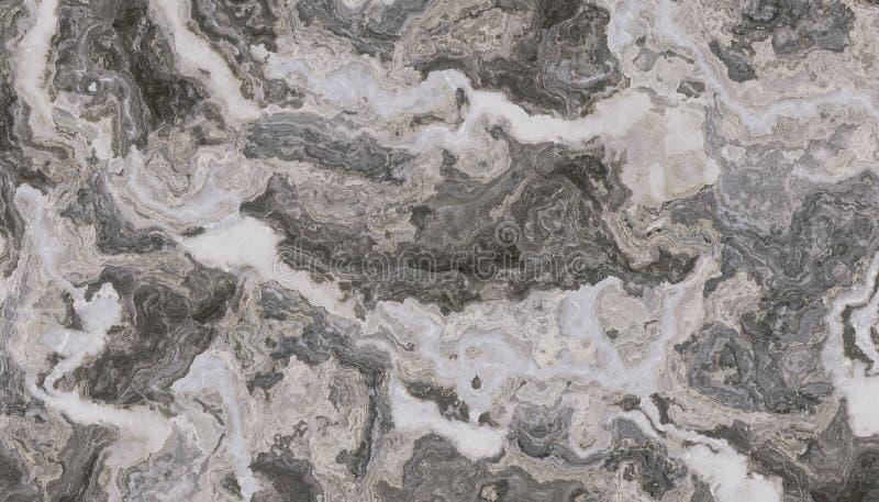 Donkere Grijze krullende marmeren achtergrond royalty-vrije stock afbeelding