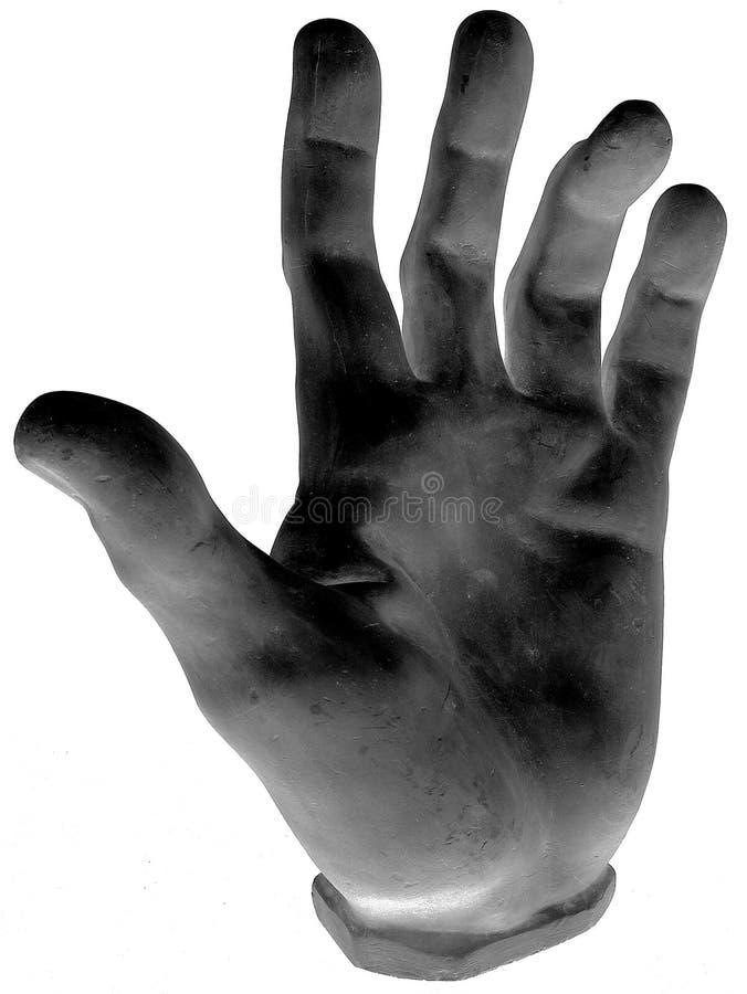 Donkere Het Grijpen Hand Royalty-vrije Stock Afbeelding