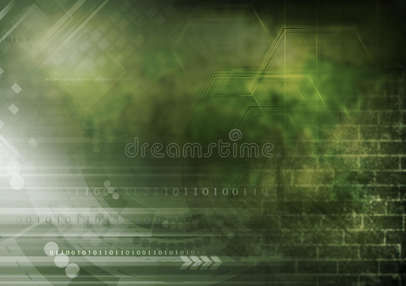 Download Donkere Het Ontwerpcollage Van Grungetechnologie Stock Illustratie - Illustratie bestaande uit concept, binair: 39104289