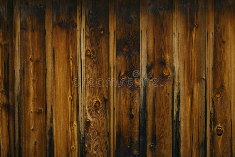 Donkere Houten Korrel stock afbeelding