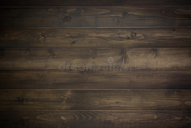 Donkere houten plank stock fotografie