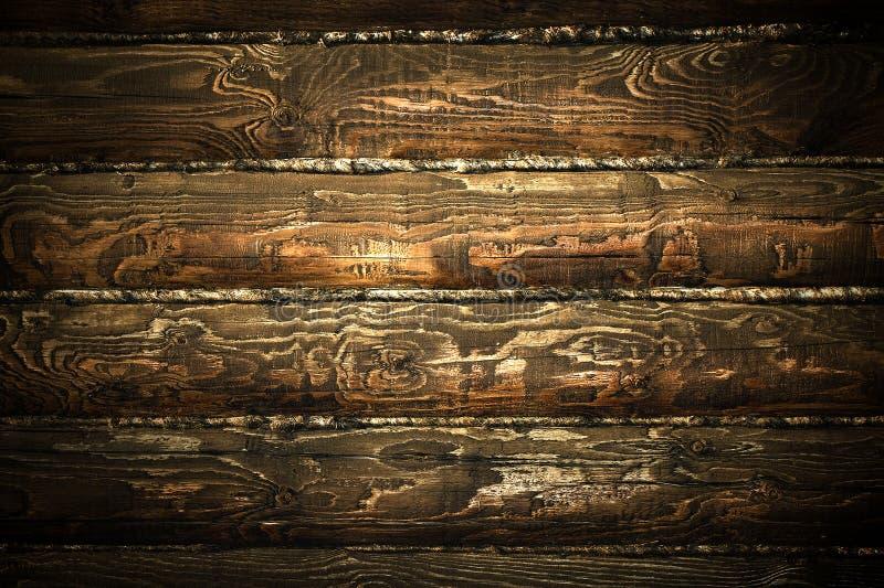 Donkere houten textuur royalty-vrije stock foto