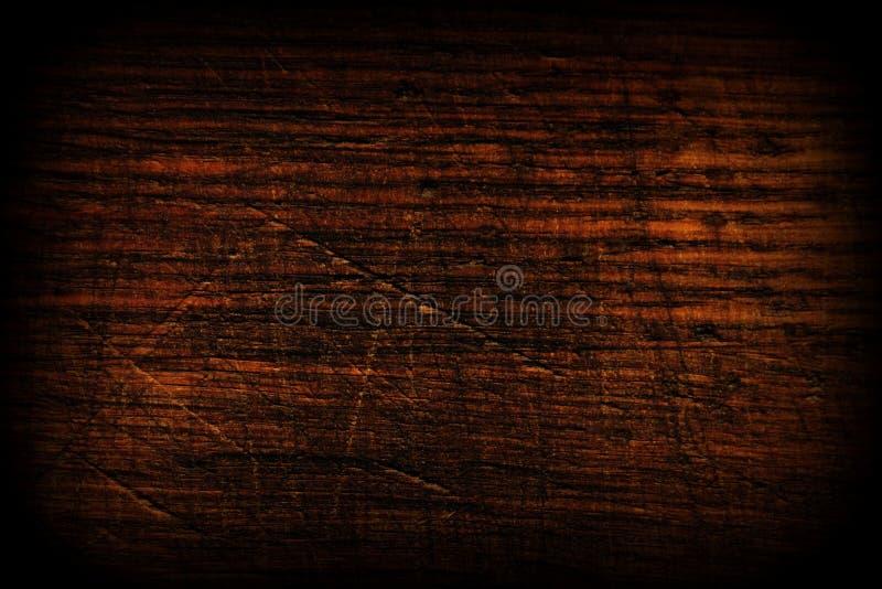 Donkere houten textuur Houten bruine textuur Achtergrond van oude panelen Retro houten lijst Rustieke achtergrond Uitstekende kle stock afbeelding