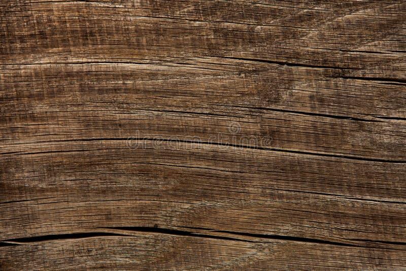 Donkere houten textuur Houten bruine textuur oude panelen als achtergrond Retro houten lijst Rustieke achtergrond Wijnoogst gekle royalty-vrije stock afbeeldingen