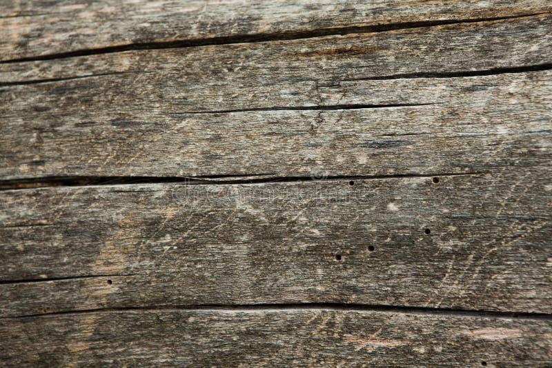 Donkere houten textuur Houten bruine textuur oude panelen als achtergrond Retro houten lijst Rustieke achtergrond Wijnoogst gekle royalty-vrije stock foto