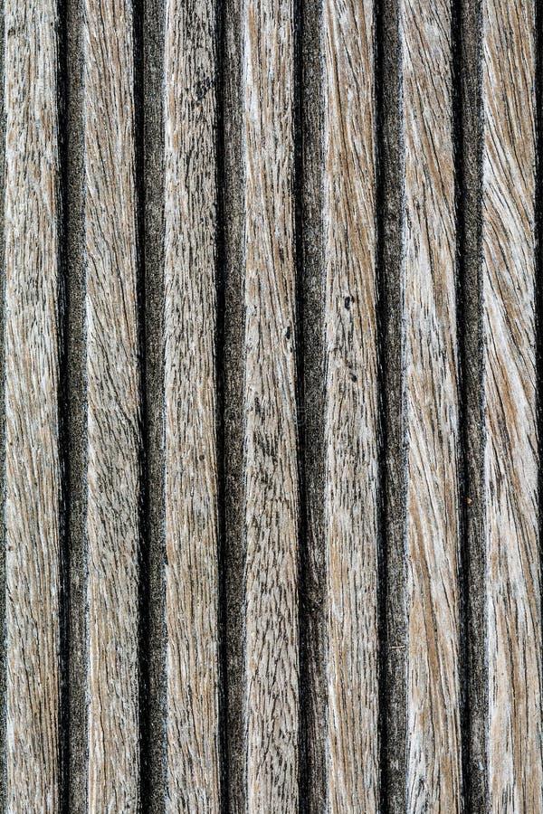 Donkere houten textuur met oud materiaal stock foto's