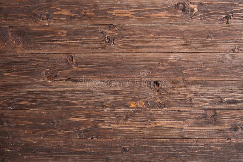 Donkere houten textuur Donkere oude houten panelen als achtergrond stock fotografie