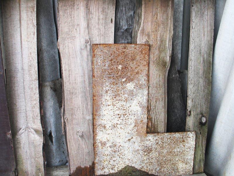 Donkere houten textuur Donkere oude houten panelen als achtergrond royalty-vrije stock foto's