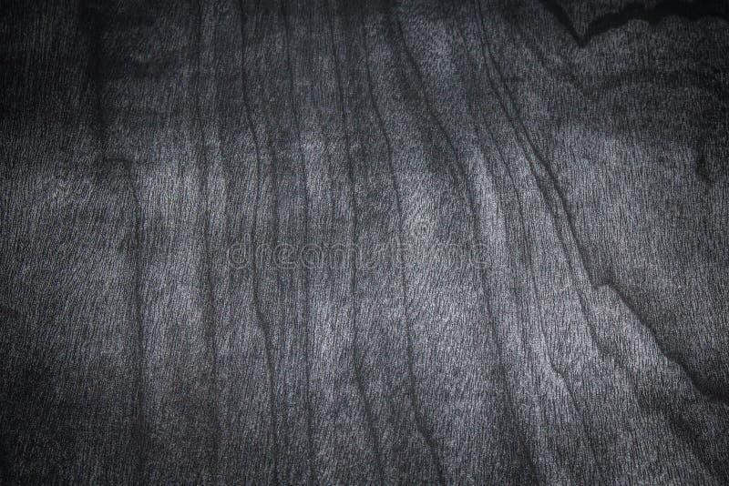 Donkere houten textuurachtergrond Textuur van zwart lijstbureau stock foto