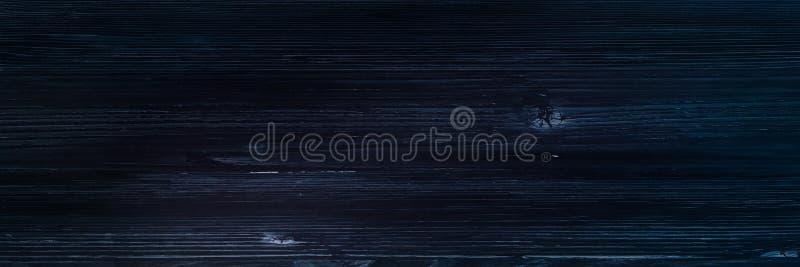 Donkere houten textuuroppervlakte als achtergrond met oud natuurlijk patroon of donkere houten de bovenkantmening van de textuurl stock afbeelding