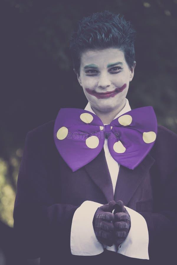 Donkere Joker royalty-vrije stock foto's
