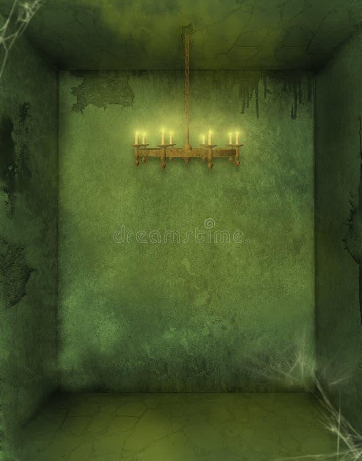 Donkere kamer royalty-vrije illustratie