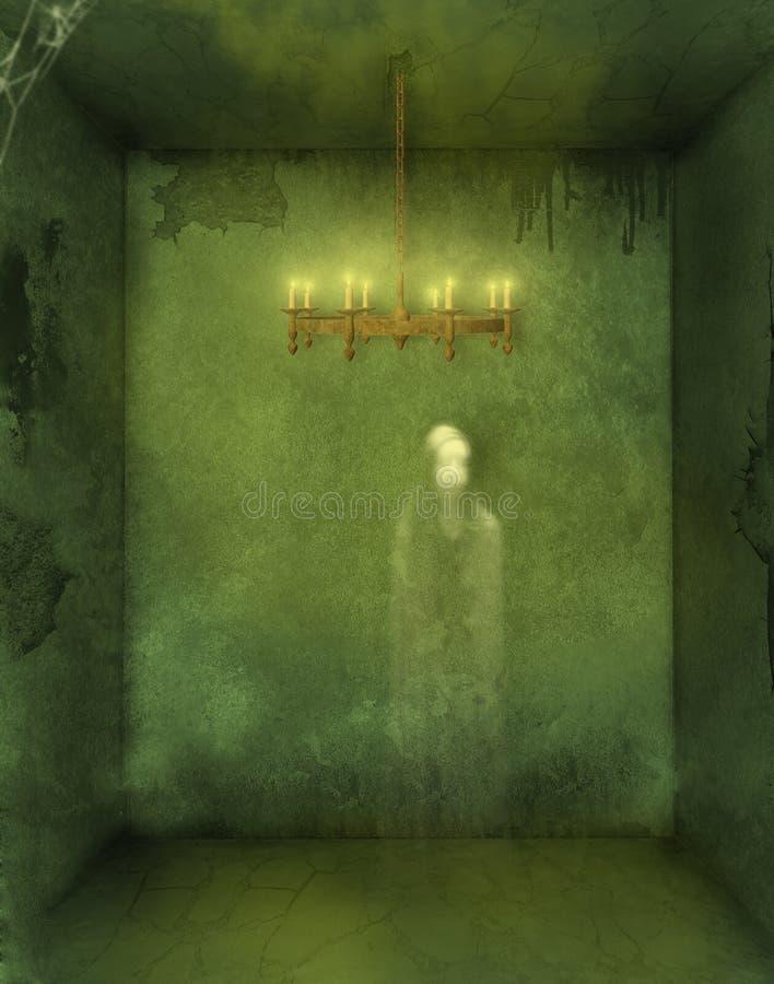 Donkere kamer stock illustratie