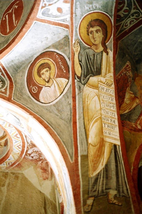 Donkere Kerk royalty-vrije stock fotografie