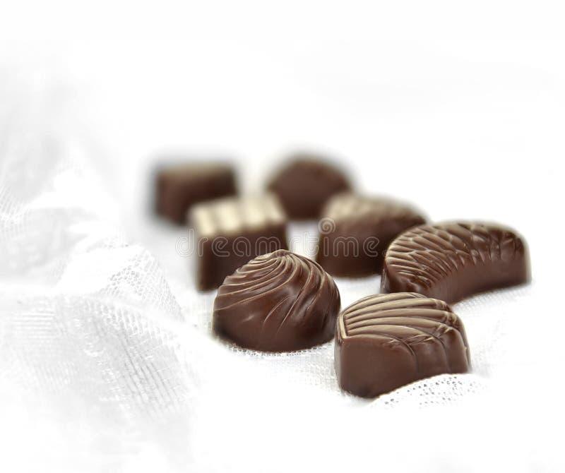 Donkere Likeurchocolade II royalty-vrije stock afbeelding