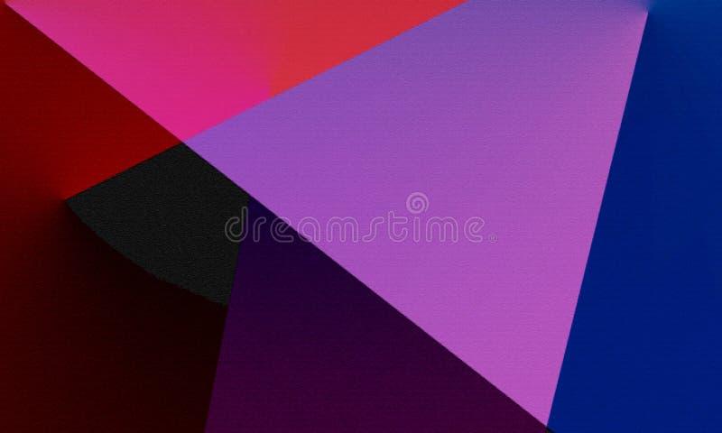 Donkere mengelingskleuren (doektextuur) royalty-vrije stock foto