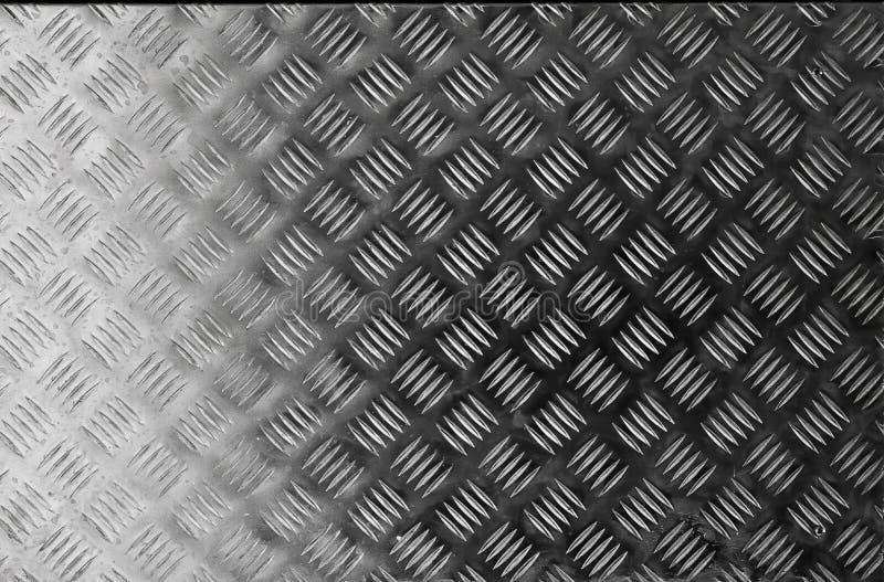 Donkere metaal de oppervlaktetextuur van het staalpatroon Close-up van binnenlands materiaal voor de achtergrond van de ontwerpde stock foto's