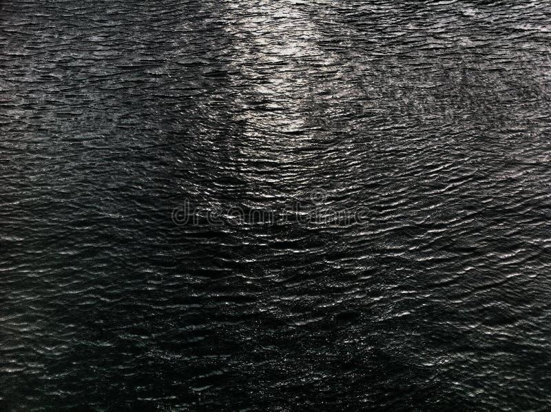 Donkere overzees stock fotografie