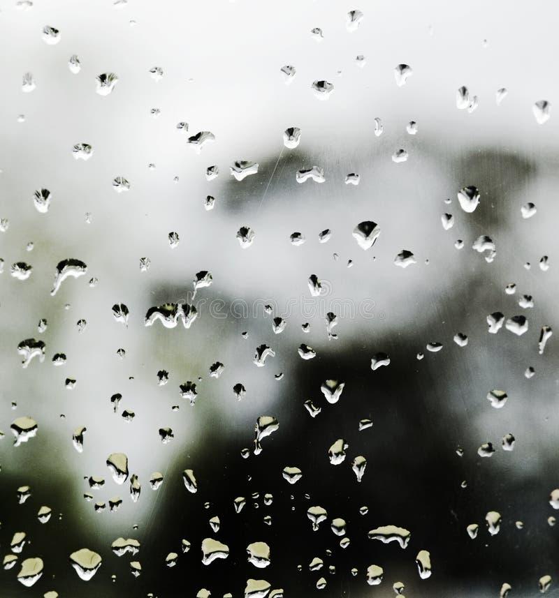 Donkere stormachtige regenachtige dag royalty-vrije stock foto's