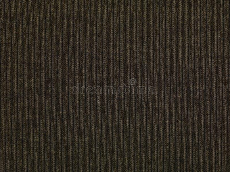 Donkere sweatermacro I stock afbeelding
