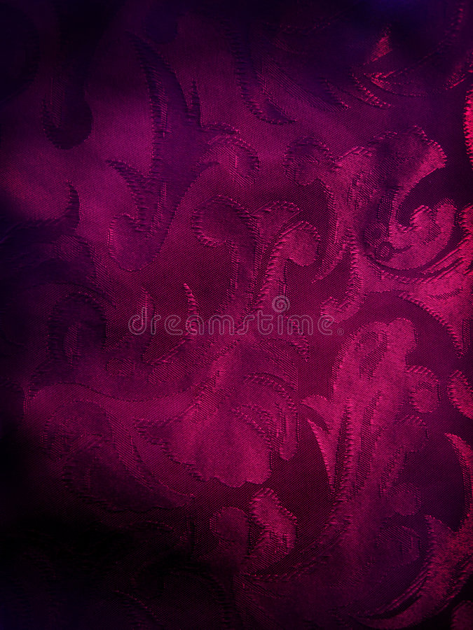 Donkere violette stoffenachtergrond stock afbeelding