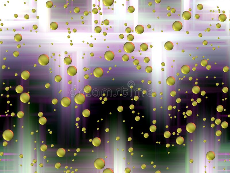 Donkere violette zilverachtige gouden achtergrond, grafiek, abstracte achtergrond en textuur royalty-vrije illustratie