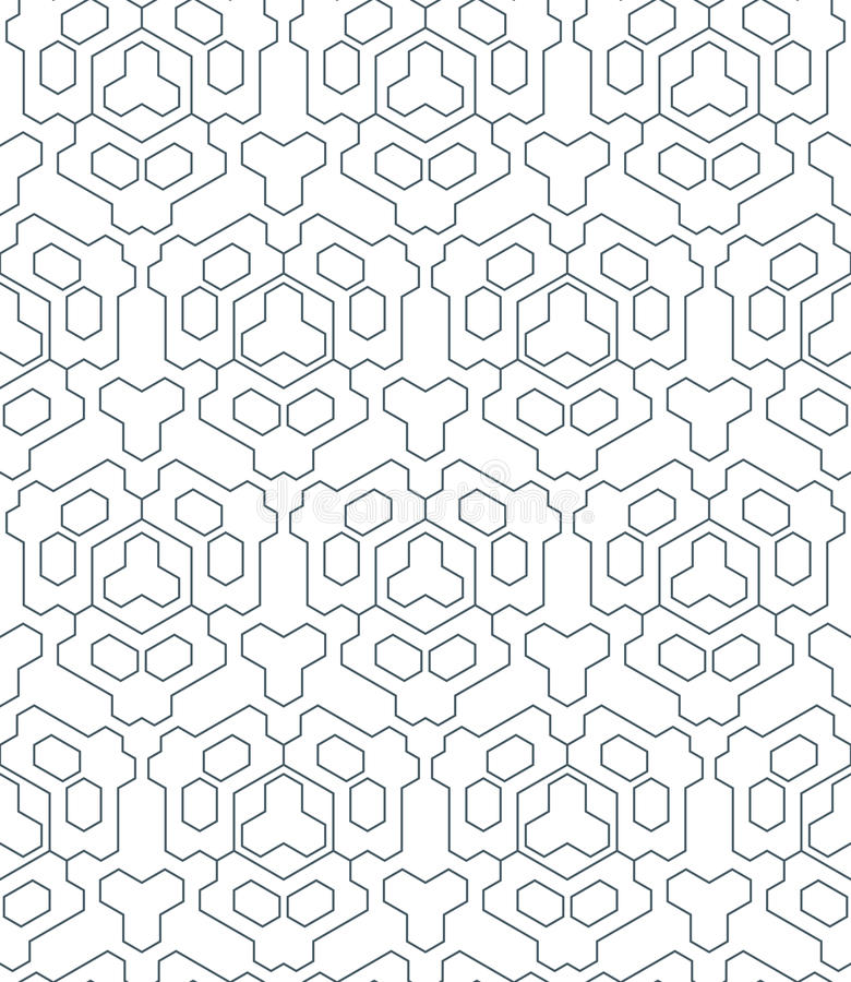 Donkere zwart-wit het overzichts abstracte geometrische seamle van de kleurendriehoek royalty-vrije illustratie