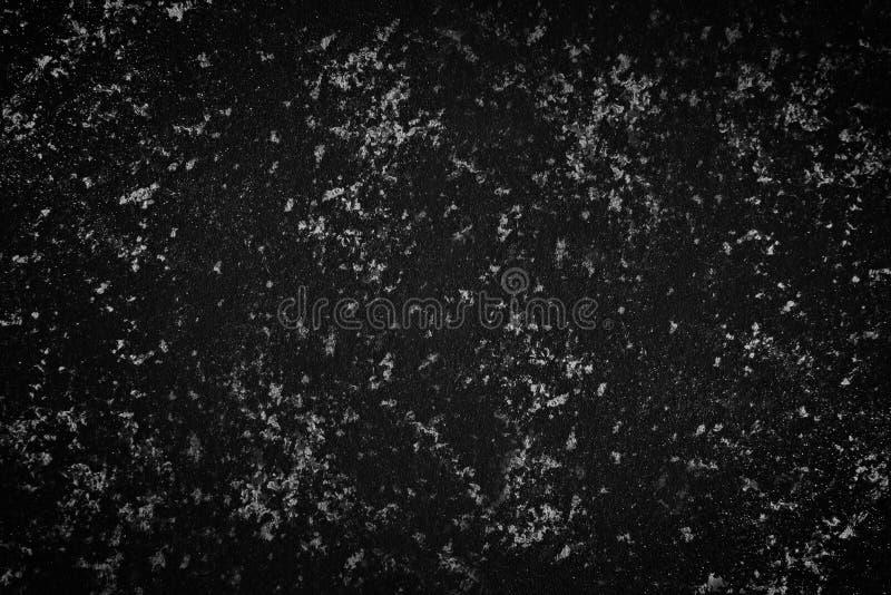 Donkere zwarte achtergrondafbeelding, textuur Geweven Achtergrond Decoratieve pleistermuren, externe decoratie van voorgevel Text royalty-vrije stock afbeelding
