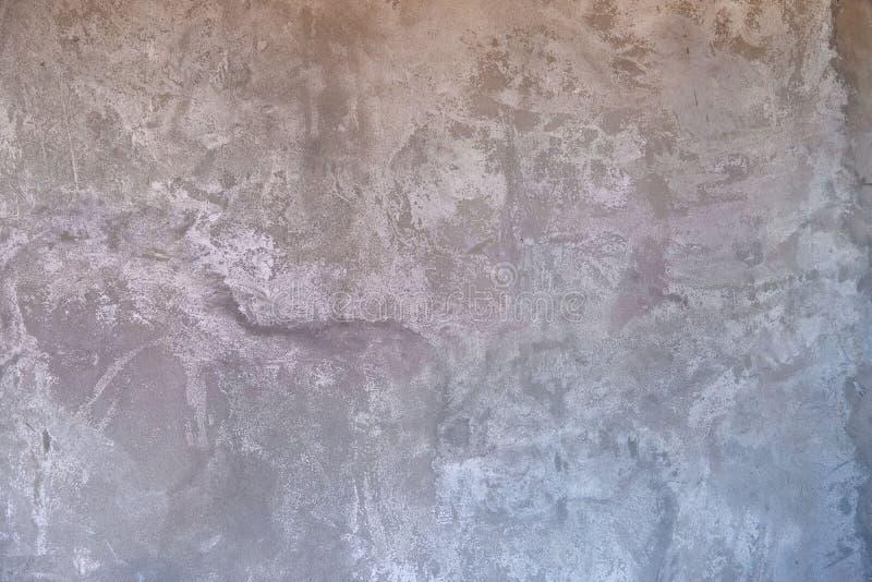 Donkergrijs cement of betonnen wand als textuur of achtergrond voor het ontwerp stock foto