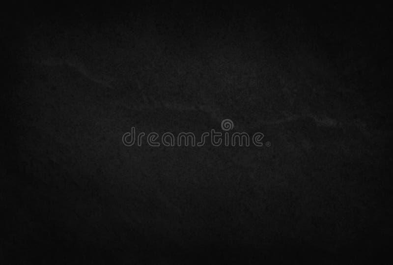 Donkergrijs zwart lei natuurlijk patroon, de Zwarte achtergrond van de steentextuur royalty-vrije stock afbeelding