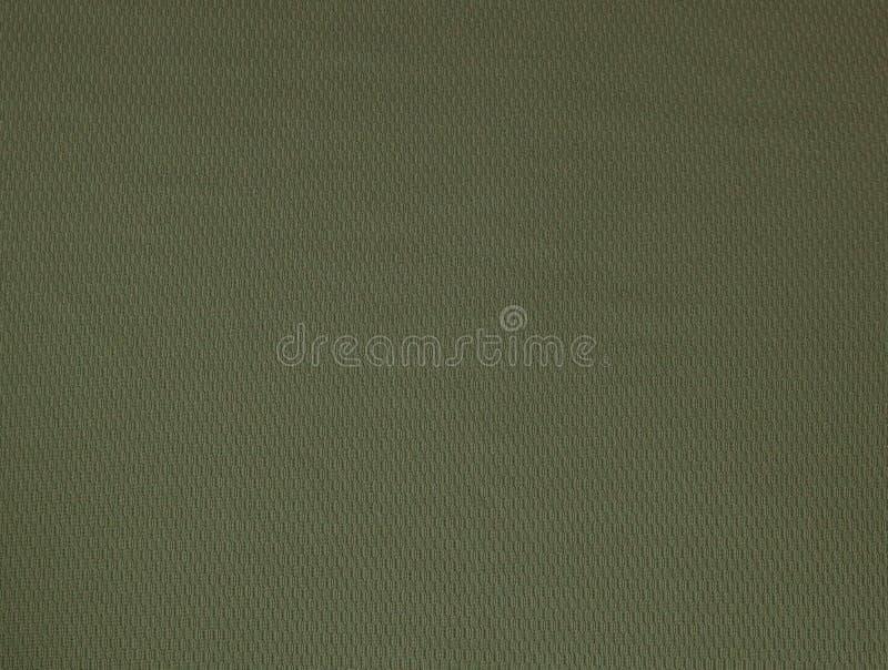Donkergroen ruw de textuurclose-up van de linnenstof als achtergrond royalty-vrije stock foto's