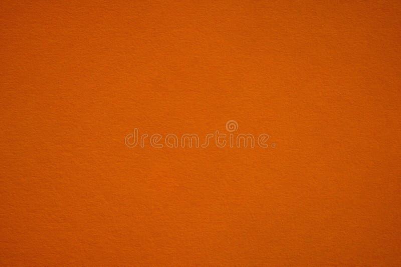 Donkeroranje document textuur en achtergrond royalty-vrije stock foto's