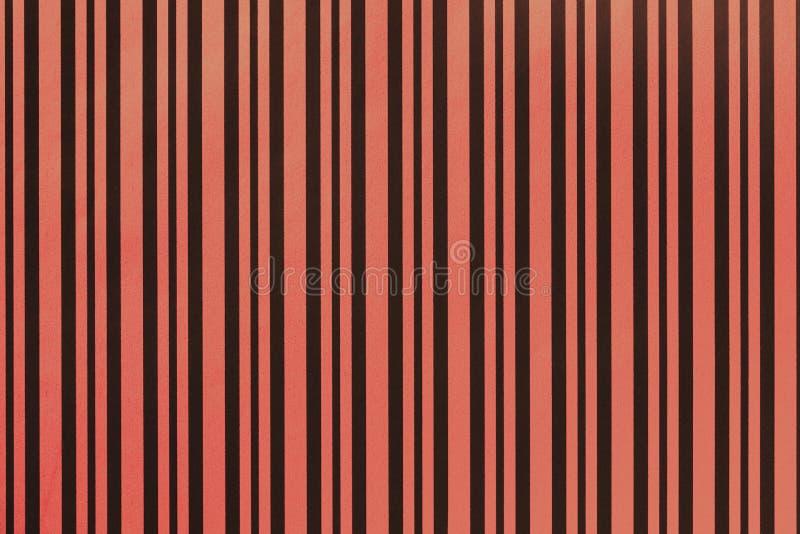 Donkerrode en zwarte achtergrond van het verpakken van gestreept document royalty-vrije stock foto's