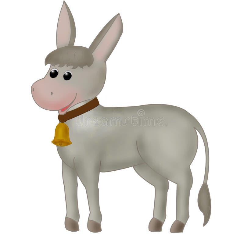 Download Donkey stock illustration. Image of curly, background - 24607053