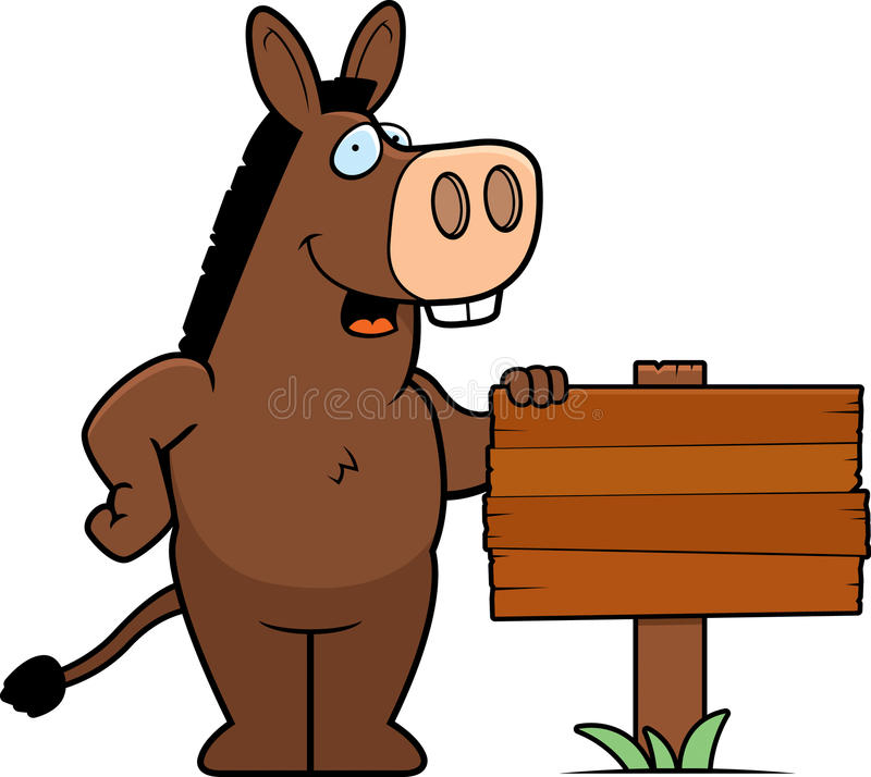 Free Donkey Sign Stock Photo - 14627700
