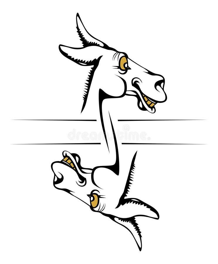Download Donkey Smile Face Stock Image - Image: 19414991