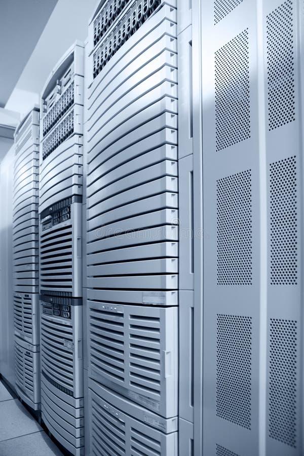 données centrales d'ordinateur image stock